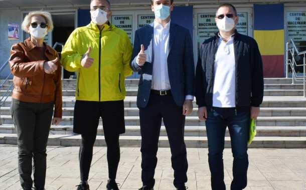 Mobilizare impresionantă la Constanța! Campanie de vaccinare, călare pe motoare!