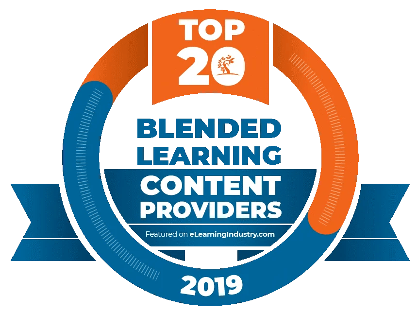 eLearning Industry selected Infopro Learning as a Top 20 eLearning Content provider for Blended Learning