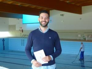 Concejal de Deportes Ángel Caballero