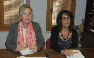 Marisol Lozano y Rosa Monreal