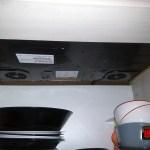 Vedere sub blat plita inductie Whirlpool ACM 847 BA