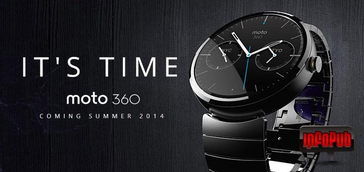 Moto 360 primul ceas inteligent care atrage atentia