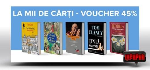 Voucher Reducere Carti pe portalul online Elefant