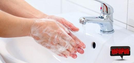 Sezonul de gripa - Spalarea mainilor cu sapun
