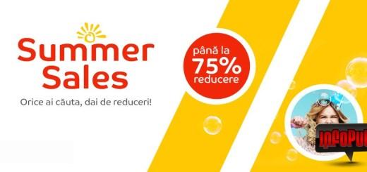 Promotii Summer Sales la eMag