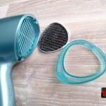 Grila si filtru aer demontate - Remington-D8700