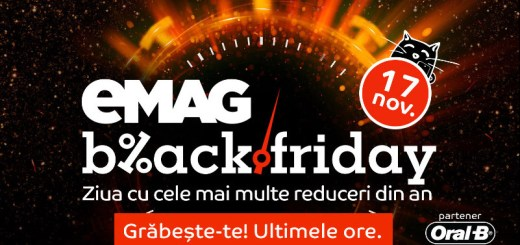 Ultima ora de Black Friday la eMAG