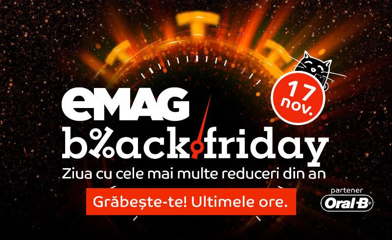 Ultima ora de Black Friday la eMAG