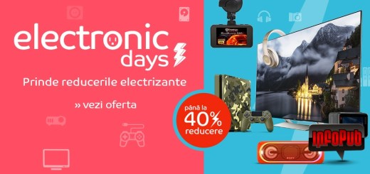 Campania Promotionala Electronics Days la eMag