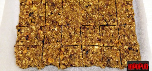 Batoane raw vegane fara gluten din seminte si fructe deshidratate