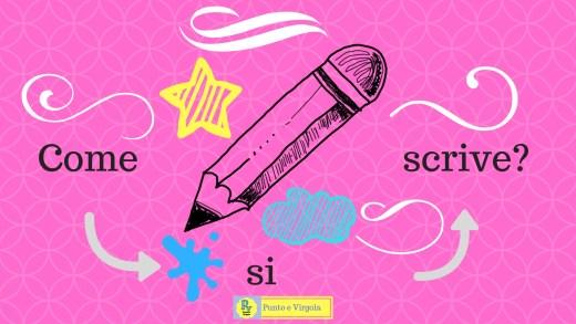 scrivere ortografia web