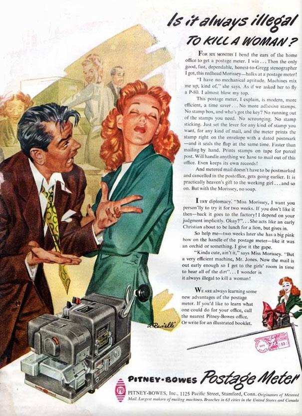 Dagli anni '50: pubblicità e spirito del tempo.