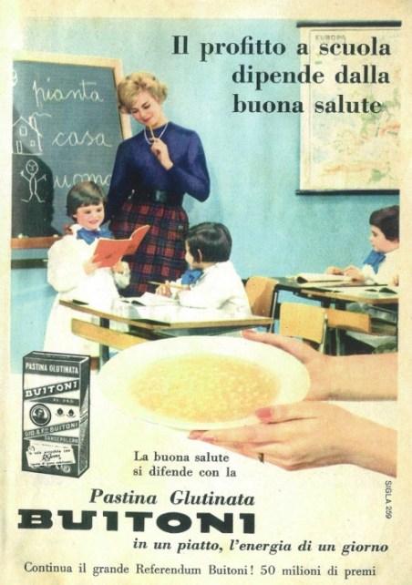 pubblicità anni 60 donna