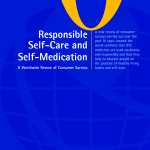Responsibe Self Medication