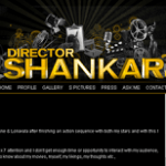 Indian Film Director Shankar's Personal Blog