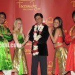 """The King of Bollywood"" Shah Rukh Khan's Wax Image erected in Madamme Tussauds Theatre California"