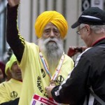 100 Years Old Indian Born Singh Got a Spot in Guinness Book of World Records for Marathon Race