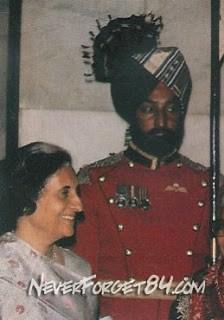 Beant Singh Personal Guard of Indira Gandhi