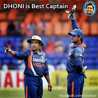Tendulkar and Dhoni