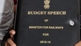 Indian Railways Budget 2013