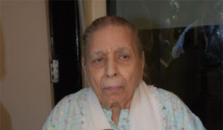 Shamshad Begum at Old Age