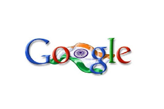 Google-Doodle for India's I - Day 2006