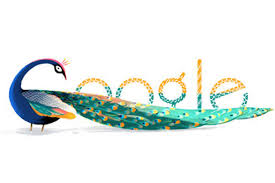 Google-Doodle for India's I - Day 2012