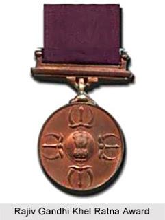 Rajiv Gandhi Khel Ratna Award Medal