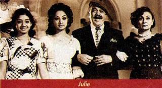 Sridevi in Hindi Move Julie with Lakshmi
