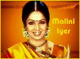 Sridevi in Hindi TV Serial Maliny Iyer