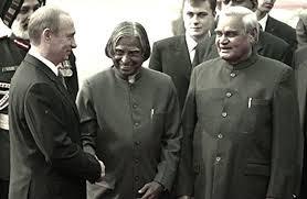APJ Abdul Kalam with AB Vajpayee