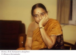 R.K.Narayan's Daughter Hema