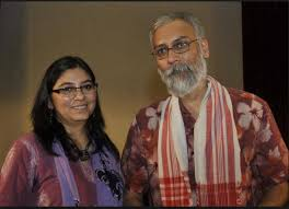 Kavitha Bahl and Nandan Saxena