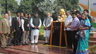 APJ Abdul Kalam's Bust Statue Unvieled at DRDO