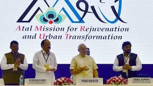 AMRUT-Atal Mission for Rejuvenation and Urban Transformation
