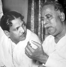 CN Annadurai with M Karunanidhi