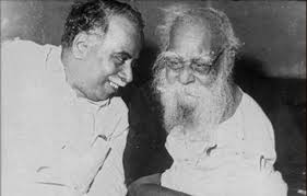 CN Annadurai with Thanthai EVR Periyar