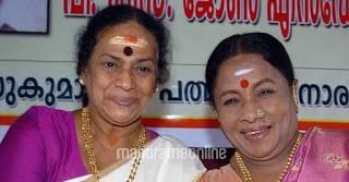 Manorama with Sukumari