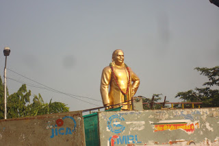 Pasumpon Muthuramalinga Thevar Statue at Anna Salai Chamiers Road Junction
