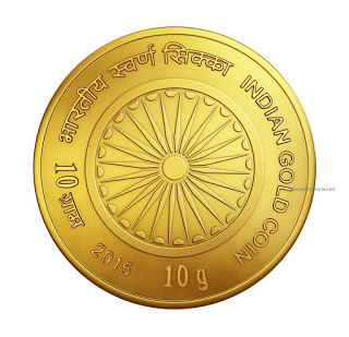 Gold Coin Front Side