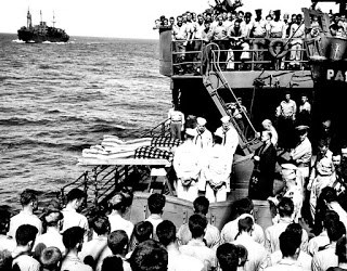 Sea Burial in India