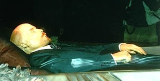 Corpse of Vladimir Lenin Preserved by Stuffing