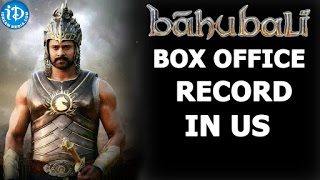 Bahubali's Box Office Record in USA