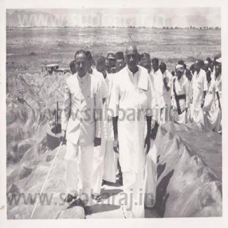 Vaigai Dam Inaugurated by K Kamaraj CM of Madras State