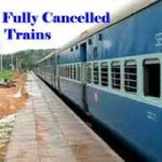 Lists of Trains Leaving Chennai Egmore Cancelled and Trains From, To &Via Chennai Egmore / Central Diverted on 02nd December 2015