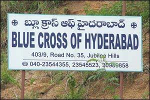 blue cross of hyderabad