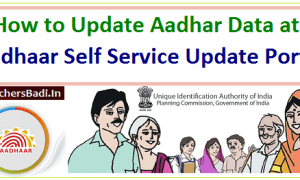 How To Change Address and Other 'Data' in Aadhar Letter/Card?