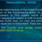 List of Fundamental Rights and Duties of Indian Citizen