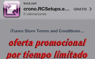 Crono.RCSetups.es ahora rebajado