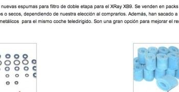 Prepara tu XB9 con Advantage Racing
